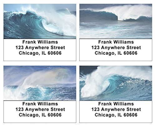 Mighty Waves Address Labels ()