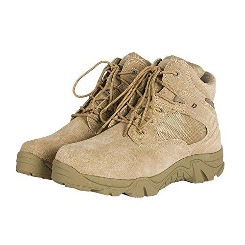 Kurzschaft Boot Wanderschuh Schuh Outdoorschuh Einsatzstiefel Tactical Stiefel Bergschuh Trekking Beige Meijunter PFIwqOdxd