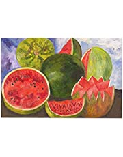 LAOAYI Muur Art Canvas Prints Inches Canvas poster schilderij Frida Kahlo Viva La Vida Watermeloenen HOME Slaapkamer Woonkamer Kantoor Dorm Schilderen HOME Slaapkamer Woonkamer Kantoor Dorm