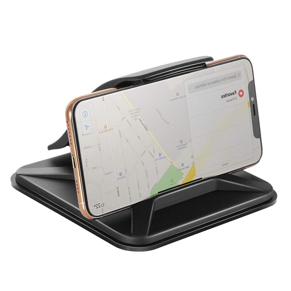 Galaxy S10 S9 Note Huawei P20 and Others Modohe Car Mount Universal Dashboard Car Phone Holder Car Cradle with Strong Sticky Gel Car Phone Mount for iPhone Xs Max//Xs//Xr//X//8//7//6s Plus