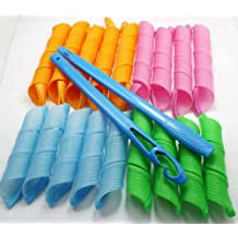 niceEshop(TM) 18pcs Hair Rollers Snail Rolls Styling Curler Tools Easy At Home DIY Natural Way