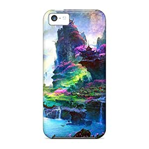 Forgotten Valley Case Compatible With Iphone 5c/ Hot Protection Case