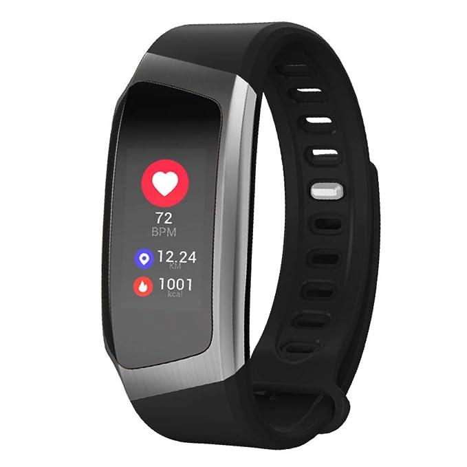 VECDY Smartwatch, E18 Pulsera Presión Arterial Reloj Oxígeno de la ...