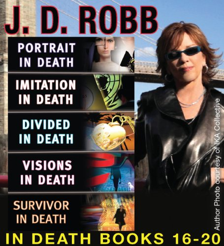 J.D. Robb  The IN DEATH COLLECTION Books 16-20 16 Collection