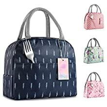 IOQSOF Lunch Bag for Women Stylish Lunch Tote Bag Insulated Lunch Bag Lunch Box