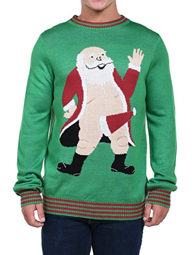 Tipsy Elves Men\u0027s South Pole Christmas Sweater