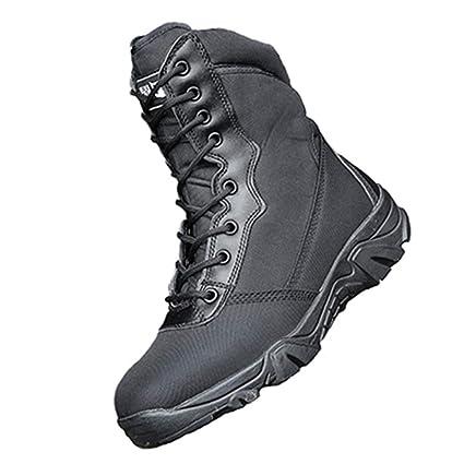 630431357b6 Amazon.com: DengSha Outdoor Hiking Boots Men Military Tactical Shoes ...