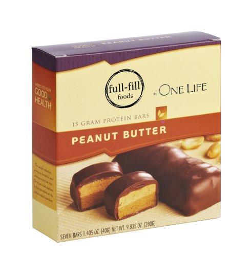 Creamy Peanut Butter Protein Bars