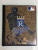 Kansas City Royals 10 Page MLB 80 Baseball Card Holder