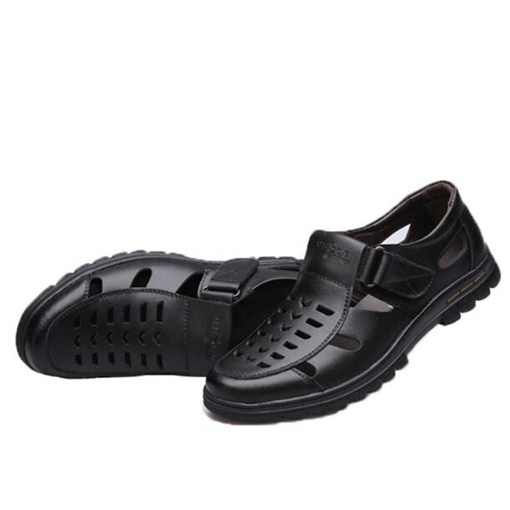 d3af8aeff4a6 Amazon.com: Yaloee Summer Sandals Male Hollow Breathable Soft ...