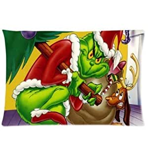 Grinch Stole And We Celebrate Christmas Together Zippered 16x24 (Twin sides)