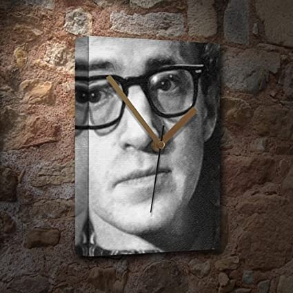 WOODY ALLEN - Canvas Clock (LARGE A3 - Signed by the Artist ...
