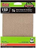 ALI INDUSTRIES 5031 150  6CT Grit Sandpaper, 4-Inch x 5-Inch