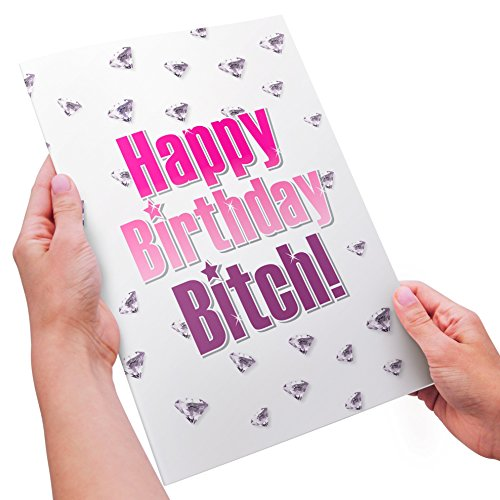 Funny Adult Birthday Card - XL Size - Happy Birthday - A Average Of Card Size