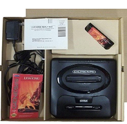 Lion King Computer Game - Sega Genesis Gaming System w/Lion King game