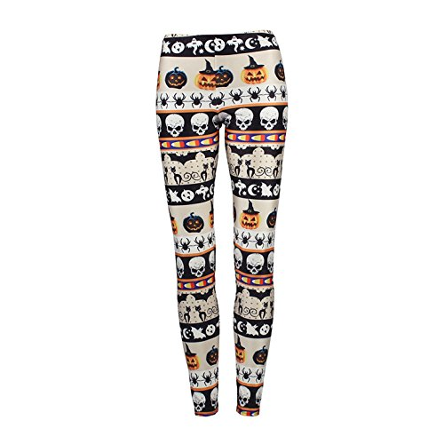 MEILIYI Soft and Stretchy Printed Halloween Yoga