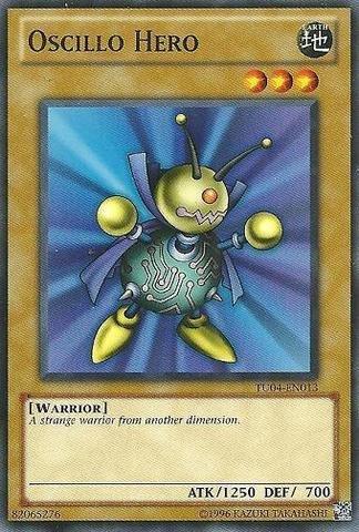 Yu-Gi-Oh! - Oscillo Hero (TU04-EN013) - Turbo