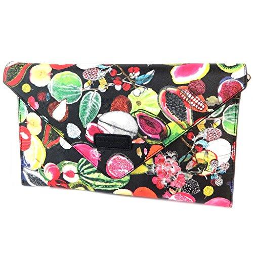 48''x1 Multicolored Bag Cm 18'' Creative fruits Pouch 12 31x19x3 Envelope 'christian 20''x7 Lacroix'black BTwPq
