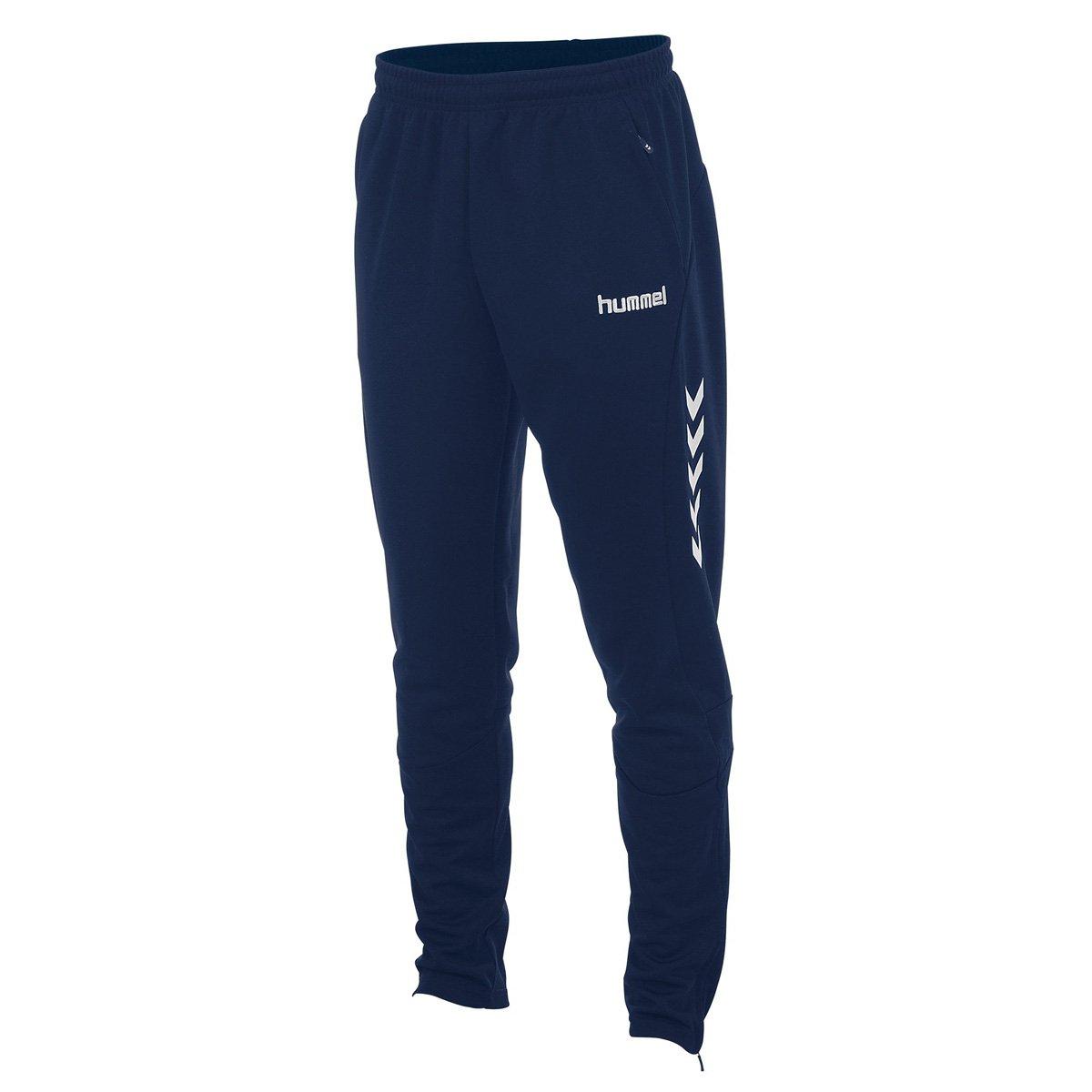 Hummel Team pantalones de chándal Junior Azul azul marino Talla ...