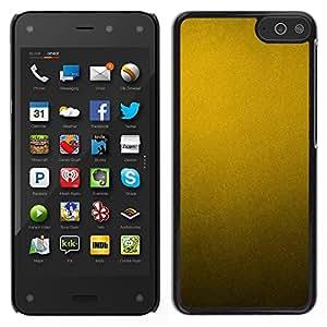 "Pulsar Snap-on Series Teléfono Carcasa Funda Case Caso para Amazon Fire Phone 4.7 , Patrón de metal rústico metálico amarillo"""