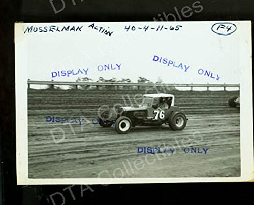 WILLIE MUSSELMAN #76 MODIFIED COUPE STOCK CAR 1965 PIC