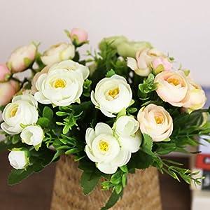 CLG-FLY European-style garden Camellia flower artificial flower silk cloth artificial creative home decor artificial flower Camellia 99