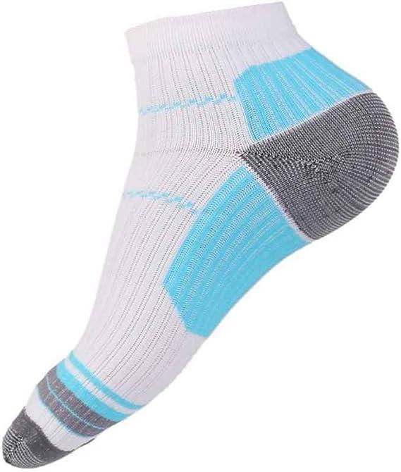 1 paire de chaussettes de compression des pieds unisexe anti-fatigue Fasciite plantaire au talon /éperons douleur chaussettes tricot/ées pour hommes femmes couleur