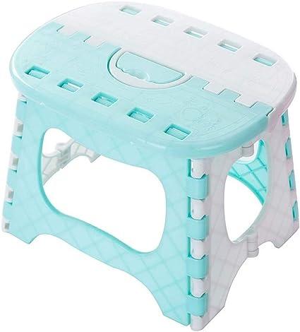 TD Taburetes Escalera Baño Portátil de pequeño banco, silla de plástico Taburete, mini adulto del hogar infantil plegable heces corto, for de interior del jardín de cocina Oficina de Hogares Bibliotec: Amazon.es: