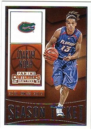 11e0c27252b Amazon.com: 2015-16 Panini Contenders Draft Picks Season Ticket #46 Joakim  Noah Florida Gators: Collectibles & Fine Art