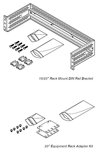 Amazon Com Rack Mount Din Rail Bracket Home Improvement