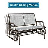 GOLDSUN 2 Person Swing Glider Chair Patio Swing