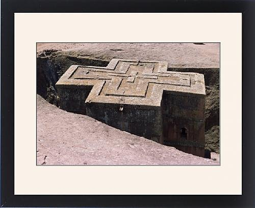 Framed Print of Rock-hewn Christian church of Bieta Ghiorghis (St. George s), Lalibela by Robert Harding