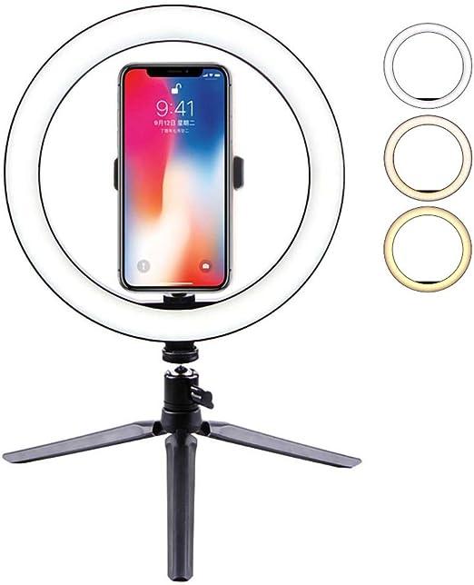 Studio Led regolabile Fotocamera Anello di luce foto telefono video luce lampada con treppiedi