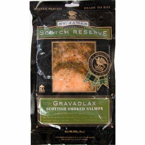 Scotch Reserve Scottish Gravelox Gravelox 1 lb - Seasoned Smoked Salmon