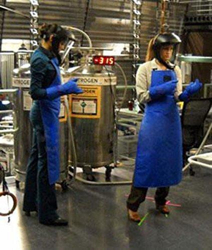Holulo Safety Cryo-Apron Cryogenic Apron Nitrogen Working Suit 33'' Length x 26'' (L) by Holulo (Image #9)