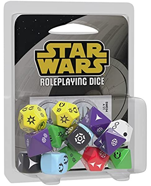 Fantasy Flight Games- Star Wars: Edge of The Empire RPG Dice Pack, Color (EDGSWE04): Fantasy Flight Games: Amazon.es: Juguetes y juegos