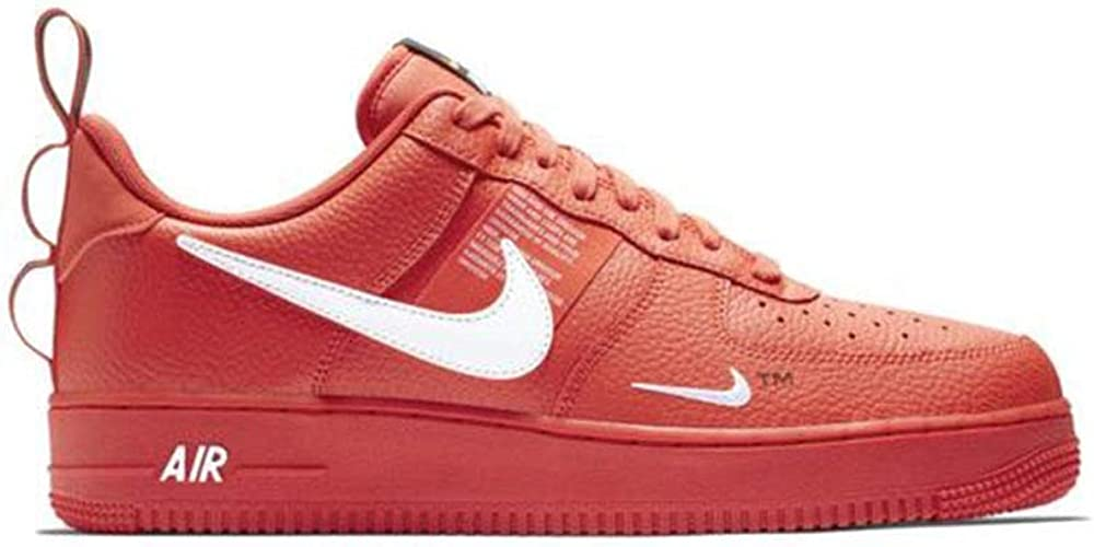 nike air force 1 07 rosse e bianche