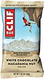 CLIF BAR - Energy Bar - White Chocolate Macadamia - (2.4 Ounce Protein Bar, 12 Count)