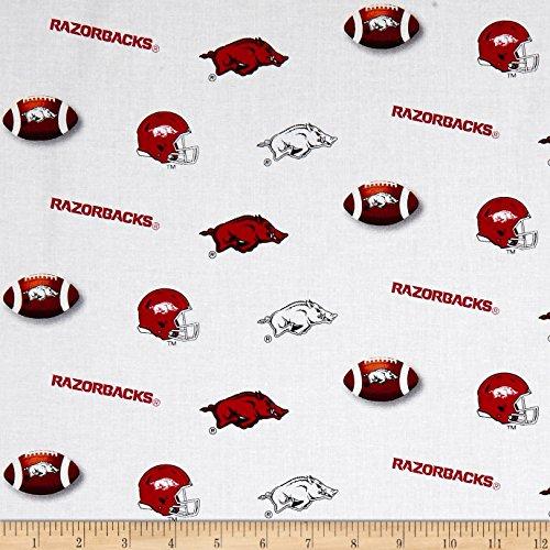Sykel Enterprises NCAA University of Arkansas Razorbacks Fabric by The Yard