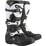 Alpinestars Tech 3 Men's Off-Road Motorcycle Boots - Black/White / 9