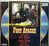 Fort Apache Starring John Wayne, Henry Fonda, Shirley Temple, Ward Bond, Victor McLaglen, Anna Lee, John Agar NEW Laser Disc Set
