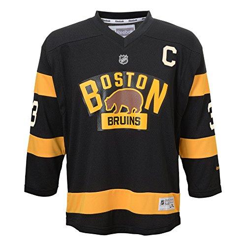 NHL Boston Bruins Zdeno Chara #33 Infants Winter Classic Replica Jersey, One Size, Black