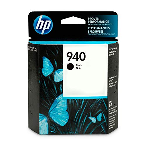 (HP 940 Black Ink Cartridge (C4902AN) for HP Officejet Pro 8000 8500 DISCONTINUED BY MANUFACTURER)
