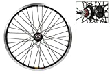 Image of Wheel Master Rear Bicycle Wheel 20 x 2.0, 36H, Sun Ryno-Lite, Bolt On, Black