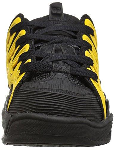 Zapatillas anchas D3 OSIRIS SHOES color negro/amarillo Talla 39,5