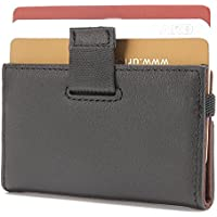 iPulse Full Grain Leather RFID Protection Wallet and Card Holder