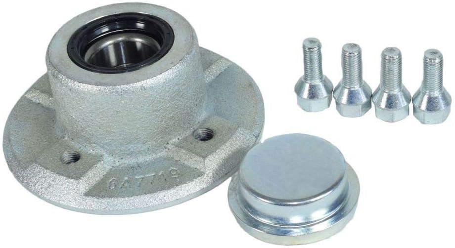 100 mm PCD cubo de rueda de remolque con rodamientos sellados para Ifor Williams P6 P7