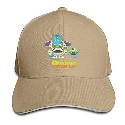 [ACMIRAN Cartoon University Personalize Sandwich Baseball Caps One Size Natural] (Peter Pan Cast Costumes)