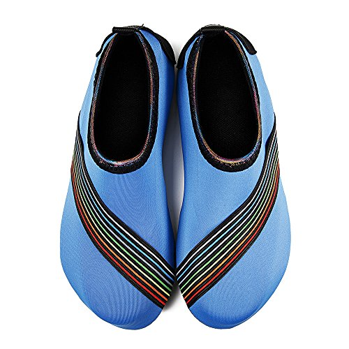 Barefoot Womens Kids Mens Exercise Quick Shoes Water and blue Yoga Beach Socks Sd Dry Swim Aqua for Surf EXqr54wX