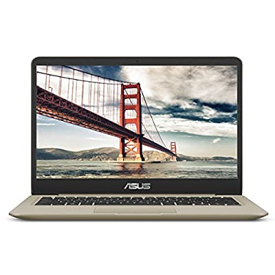 "ASUS VivoBook S S410UQ 14"" Thin and Lightweight FHD NanoEdge WideView Laptop, Intel Core i7-8550U Processor, NVIDIA GeForce 940MX Graphics, 8GB DDR4 RAM, 256GB SSD, Windows 10 Home, Backlit Keyboard"